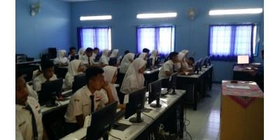 Kegiatan Simulasi UNBK SMP N 6 Sumedang